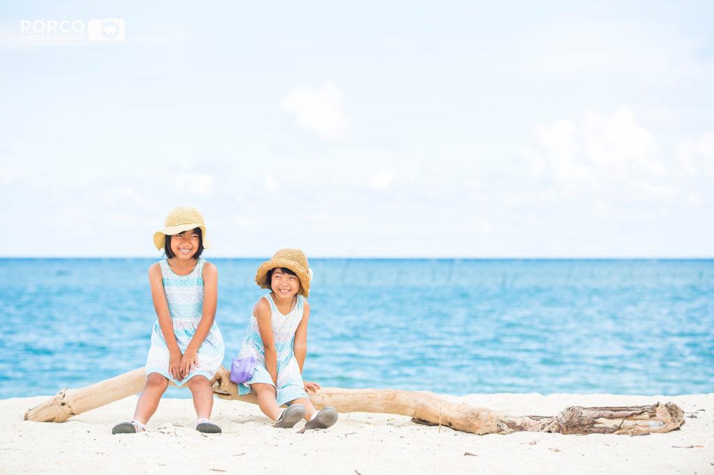 ちょっと気軽にロケーションフォト ライトプラン 沖縄出張撮影ポルコフォトグラフ,子供写真,家族写真,kidsphoto