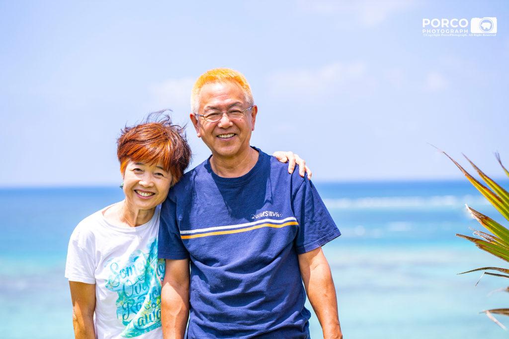 改めてご夫婦の写真を撮影しませんか? セカンドライフプラン 沖縄出張撮影ポルコフォトグラフ,子供写真,家族写真,secondlifephoto