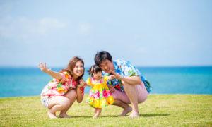 沖縄 出張撮影 子供写真 家族写真 ビーチ