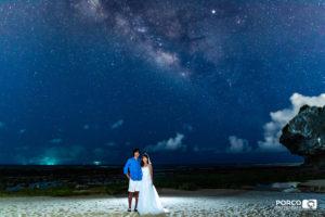 沖縄 出張撮影 家族写真 子供写真 星空
